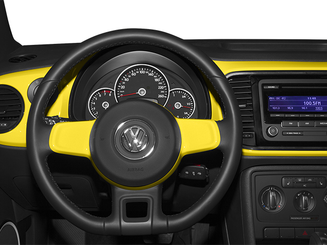 2013 Volkswagen Beetle Coupe Pictures Beetle Coupe 2D TDI photos driver's dashboard
