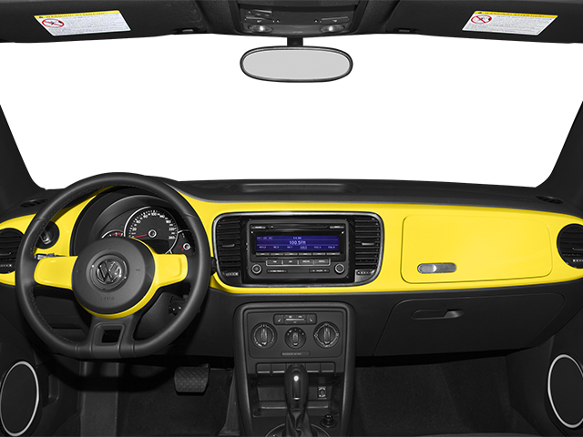 2013 Volkswagen Beetle Coupe Pictures Beetle Coupe 2D 2.5 I5 photos full dashboard