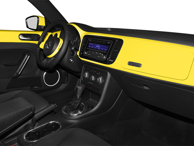 2013 Volkswagen Beetle Coupe Pictures Beetle Coupe 2D 2.5 I5 photos passenger's dashboard
