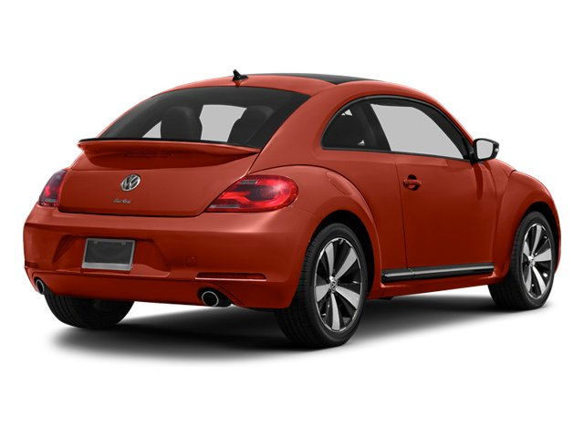 2013 Volkswagen Beetle Coupe Prices and Values Coupe 2D 2.0T R-Line I4 Turbo side rear view
