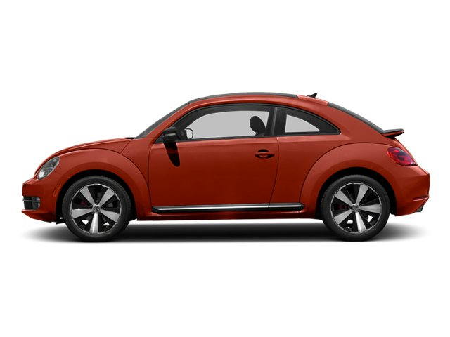 2013 Volkswagen Beetle Coupe Prices and Values Coupe 2D 2.0T R-Line I4 Turbo side view