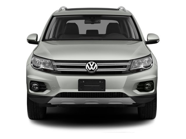 2013 Volkswagen Tiguan Prices and Values Utility 4D SEL 2WD I4 Turbo front view