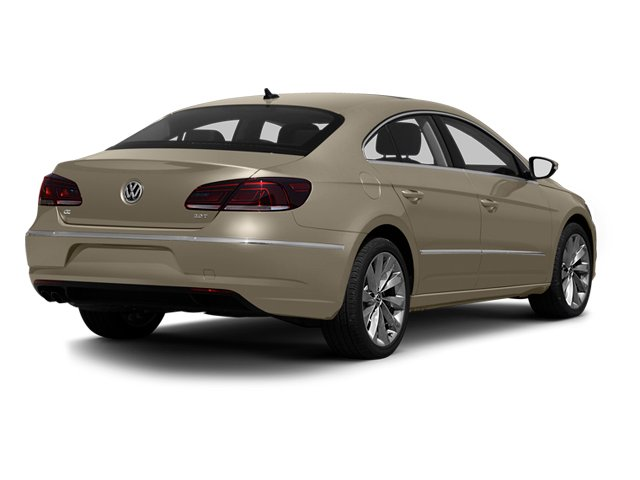 2013 Volkswagen CC Prices and Values Sedan 4D Sport side rear view