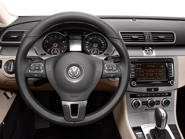 2013 Volkswagen CC Prices and Values Sedan 4D Sport driver's dashboard