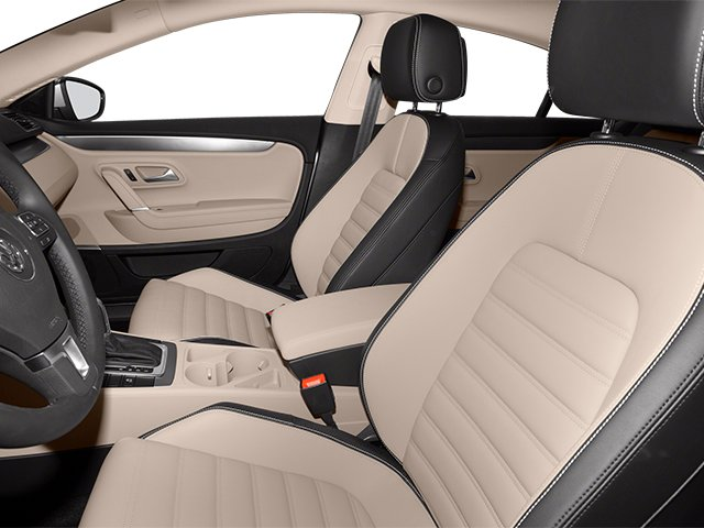 2013 Volkswagen CC Prices and Values Sedan 4D Sport front seat interior