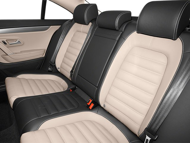 2013 Volkswagen CC Prices and Values Sedan 4D Sport backseat interior