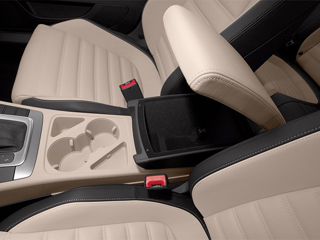 2013 Volkswagen CC Prices and Values Sedan 4D Sport center storage console