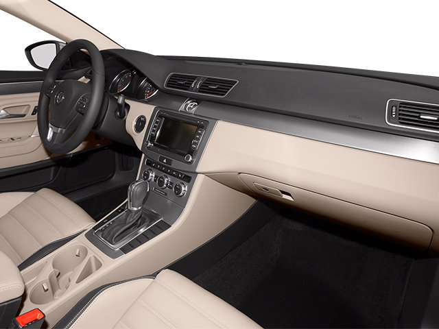 2013 Volkswagen CC Prices and Values Sedan 4D Sport passenger's dashboard