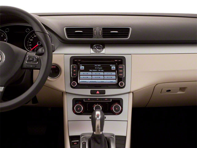 2013 Volkswagen CC Prices and Values Sedan 4D Sport center dashboard