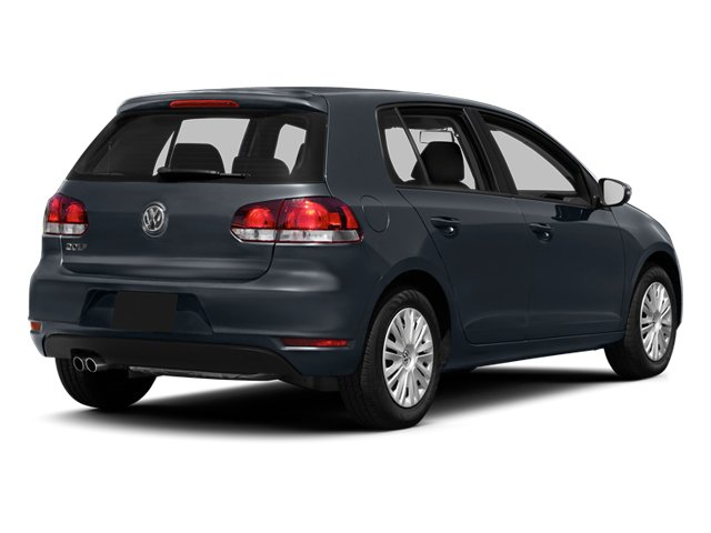2013 Volkswagen Golf Prices and Values Hatchback 4D I5 side rear view