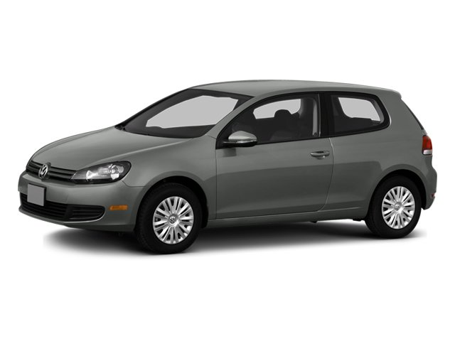 2013 Volkswagen Golf Prices and Values Hatchback 2D I5 side front view