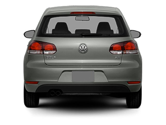 2013 Volkswagen Golf Prices and Values Hatchback 2D I5 rear view