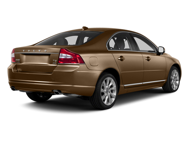 2013 Volvo S80 Prices and Values Sedan 4D I6 side rear view