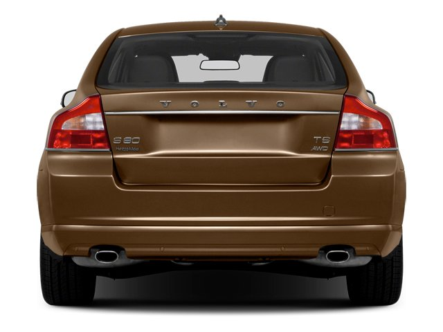 2013 Volvo S80 Prices and Values Sedan 4D I6 rear view