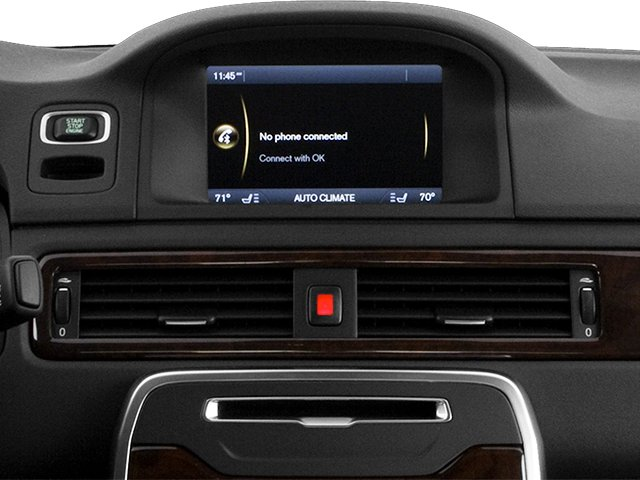 2013 Volvo S80 Prices and Values Sedan 4D I6 stereo system