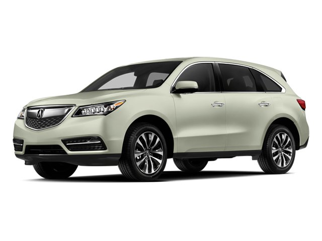 2014 Acura MDX Prices and Values Utility 4D Technology DVD 2WD V6 side front view
