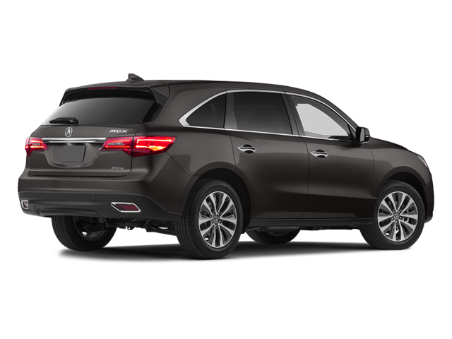 2014 Acura MDX Prices and Values Utility 4D Technology DVD 2WD V6 side rear view