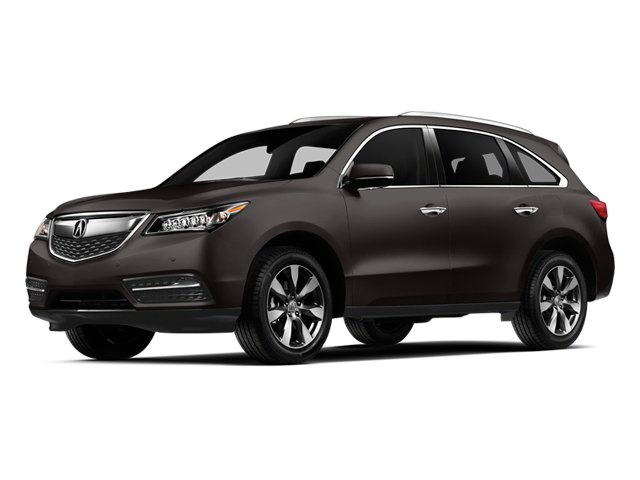 2014 Acura MDX Pictures MDX Utility 4D Advance DVD 2WD V6 photos side front view