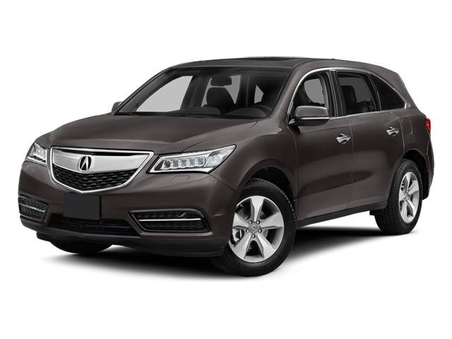 2014 Acura MDX Pictures MDX Utility 4D 2WD V6 photos side front view