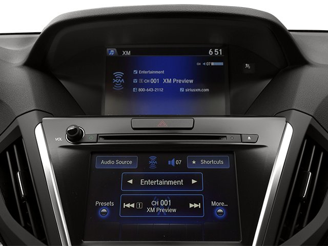 2014 Acura MDX Prices and Values Utility 4D AWD V6 stereo system