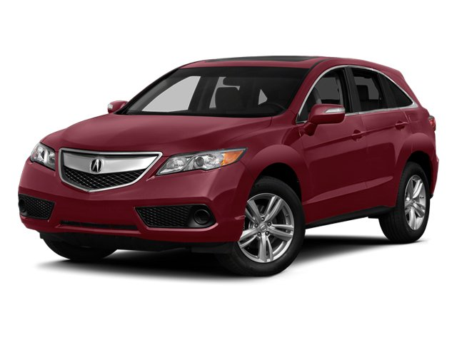 2014 Acura RDX Prices and Values Utility 4D 2WD V6 side front view