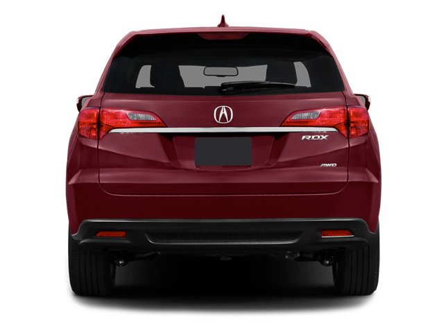 2014 Acura RDX Prices and Values Utility 4D 2WD V6 rear view