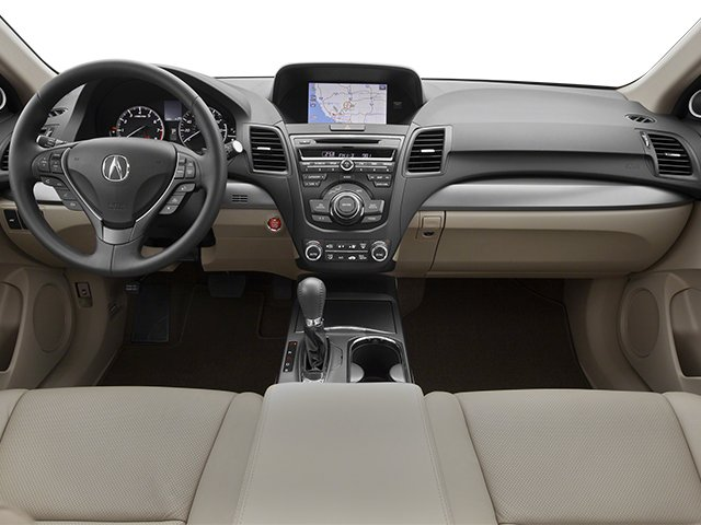 2014 Acura RDX Prices and Values Utility 4D 2WD V6 full dashboard