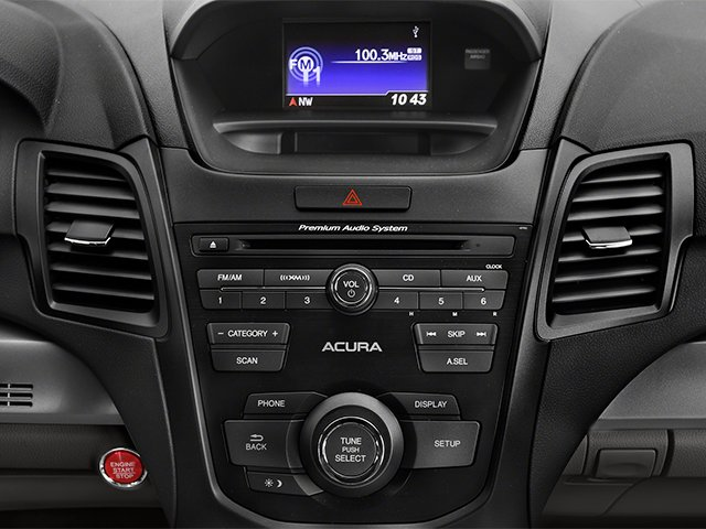 2014 Acura RDX Prices and Values Utility 4D 2WD V6 stereo system