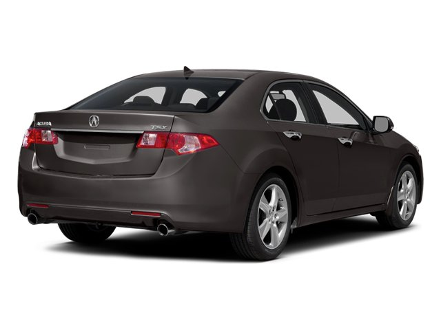 2014 Acura TSX Pictures TSX Sedan 4D I4 photos side rear view