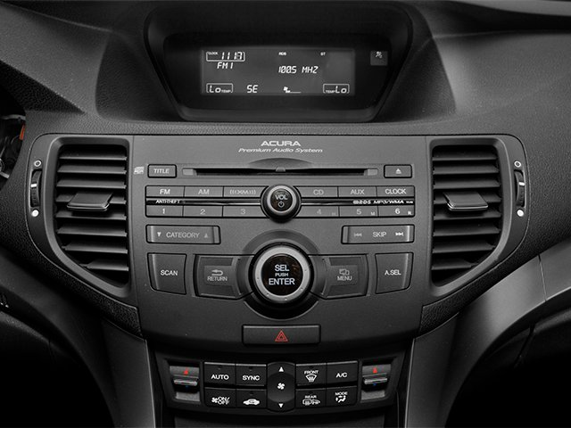 2014 Acura TSX Pictures TSX Sedan 4D I4 photos stereo system