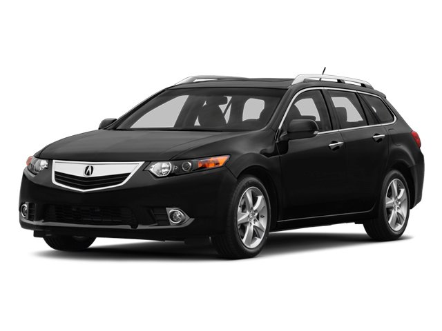 2014 Acura TSX Sport Wagon Pictures TSX Sport Wagon 4D Technology I4 photos side front view