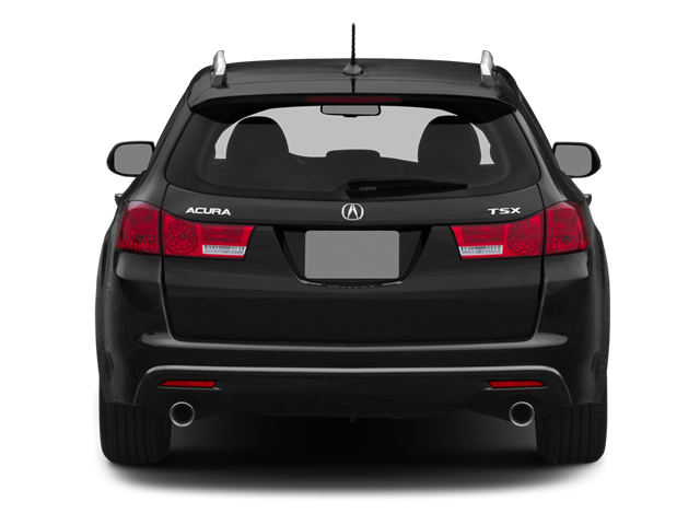 2014 Acura TSX Sport Wagon Pictures TSX Sport Wagon 4D Technology I4 photos rear view