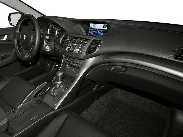 2014 Acura TSX Sport Wagon Prices and Values Wagon 4D Technology I4 passenger's dashboard