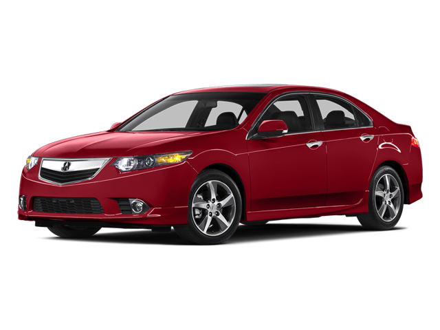 2014 Acura TSX Prices and Values Sedan 4D SE I4 side front view