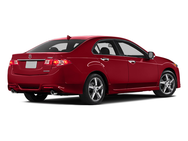 2014 Acura TSX Prices and Values Sedan 4D SE I4 side rear view