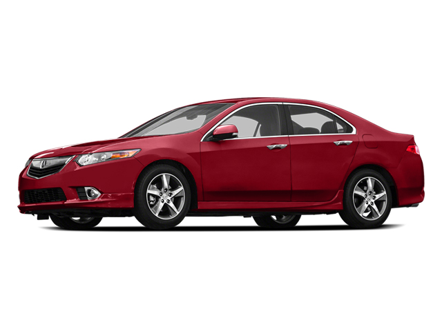 2014 Acura TSX Prices and Values Sedan 4D SE I4 side view