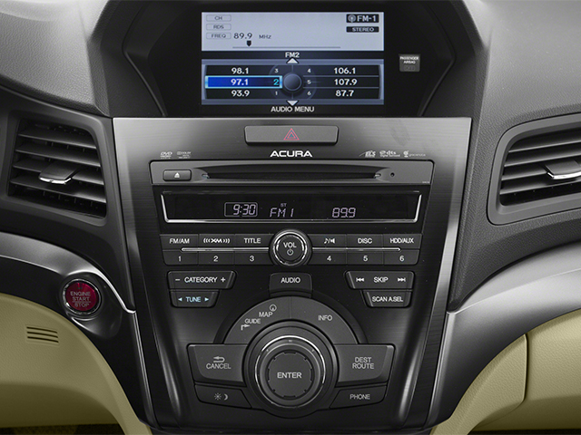 2014 Acura ILX Prices and Values Sedan 4D Technology I4 stereo system
