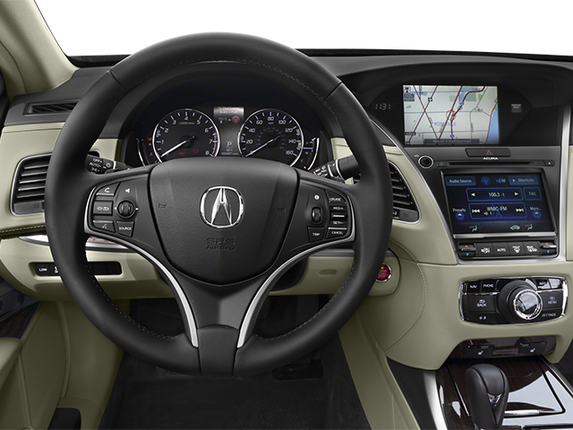2014 Acura RLX Prices and Values Sedan 4D Krell Audio V6 driver's dashboard