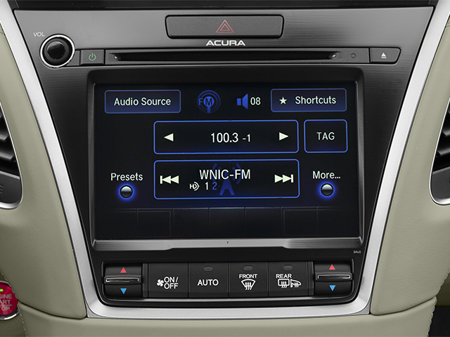 2014 Acura RLX Prices and Values Sedan 4D Krell Audio V6 stereo system