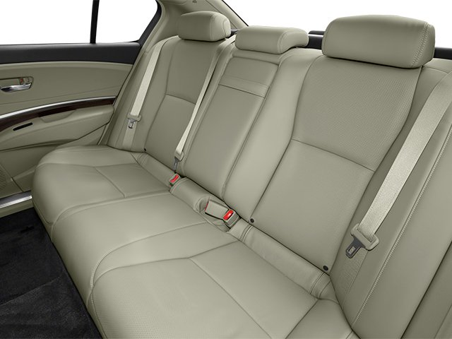 2014 Acura RLX Prices and Values Sedan 4D Krell Audio V6 backseat interior