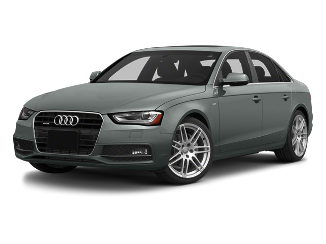 2014 Audi A4 Prices and Values Sedan 4D 2.0T Premium 2WD side front view