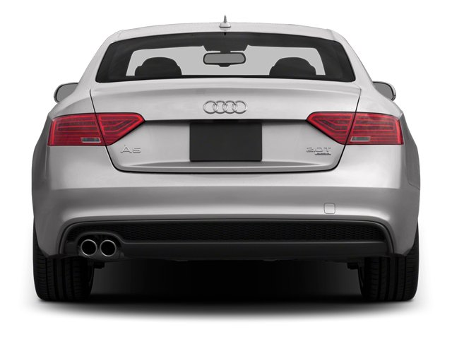 2014 Audi A5 Prices and Values Coupe 2D Premium AWD rear view