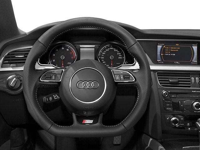2014 Audi A5 Prices and Values Coupe 2D Premium AWD driver's dashboard
