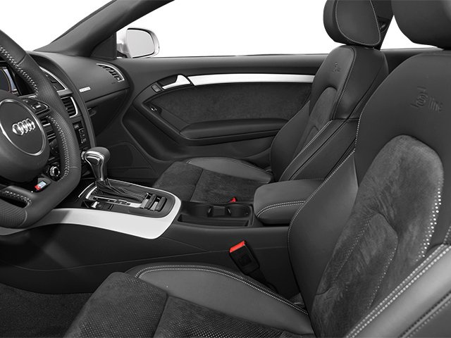 2014 Audi A5 Prices and Values Coupe 2D Premium AWD front seat interior