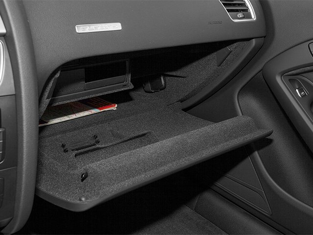 2014 Audi A5 Prices and Values Coupe 2D Premium AWD glove box
