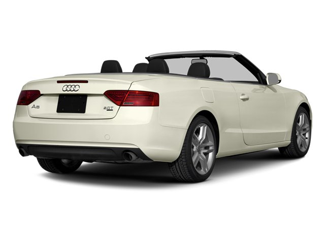 2014 Audi A5 Pictures A5 Convertible 2D Premium 2WD photos side rear view