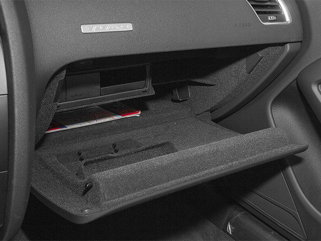 2014 Audi A5 Prices and Values Convertible 2D Premium 2WD glove box