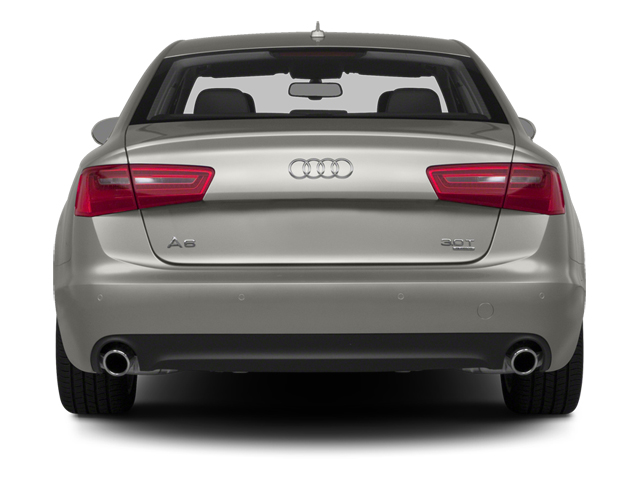 2014 Audi A6 Prices and Values Sedan 4D 2.0T Premium AWD rear view