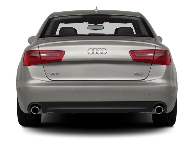 2014 Audi A6 Prices and Values Sedan 4D TDI Premium Plus AWD rear view