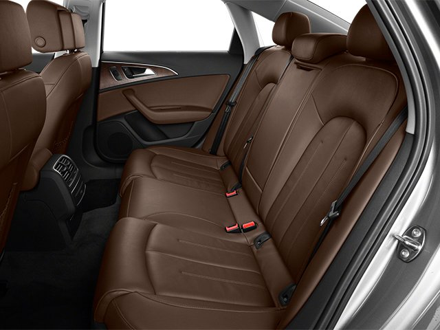 2014 Audi A6 Prices and Values Sedan 4D TDI Premium Plus AWD backseat interior